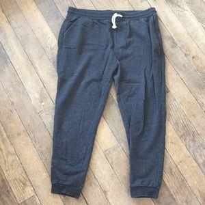 NWOT Cotton Blend Drawstring Sweatpants